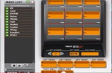 Setting up a click track and backing track with the SPD-SX