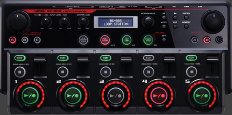 Boss Tone Library covers all the major looping technologies: great for educators!