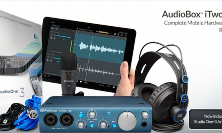 An amazing offer on the PreSonus AudioBox iTwo Studio!