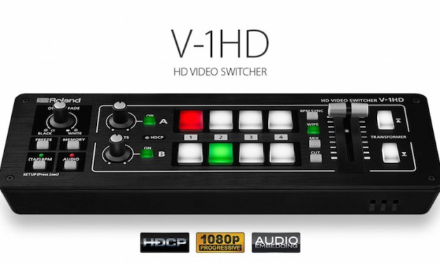 Roland's new V-1HD HD video switcher