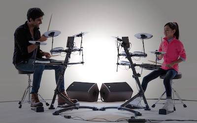 Many congratulations on twenty years of innovation – the Roland V-Drums