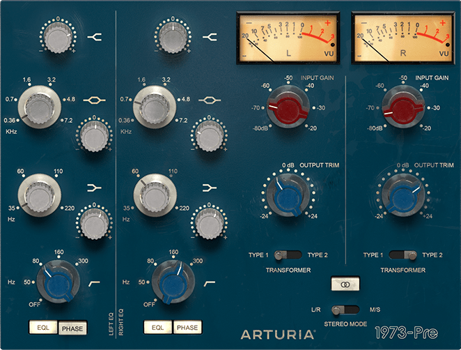 Arturia virtual classic vintage preamps and filters | UCan Play