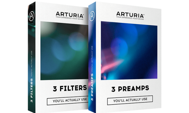Arturia virtual classic vintage preamps and filters