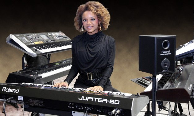 Brittani Washington on playing keys for Beyoncé Knowles
