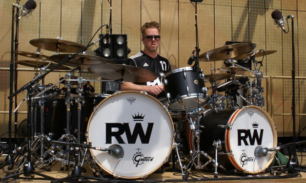 Robbie Williams' Drummer – Karl Brazil – on Hybrid Kits and Rehearsing at the O2