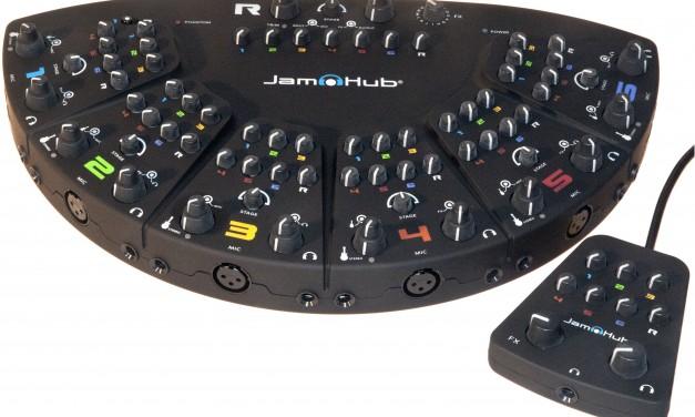 Working in a Musical Ensemble Using Jam Hubs
