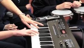 Teaching music musically at Flegg High School
