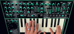 The amazing sounds of Roland's SYSTEM-1 synth