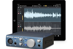 One tap digital audio transfer from iPad to computer with the PreSonus iSeries