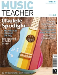 Our work appears 3 times in the October 2014  Music Teacher magazine!