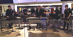 The Love Music Trust Percussion Ensemble at the RFH with Anthony Kerr (foyer gig)