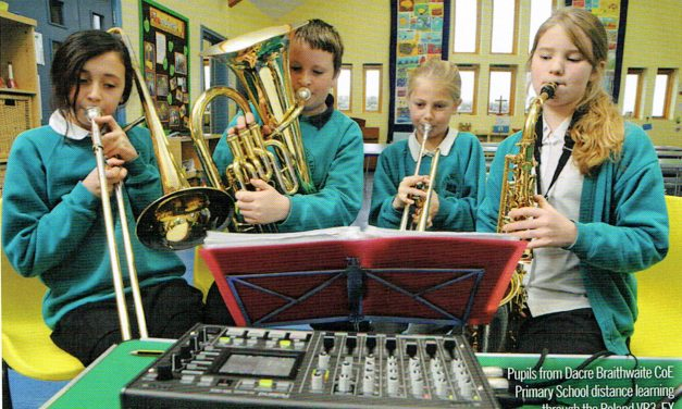 Music education in rural areas in jeopardy, but we have worked hard to find answers