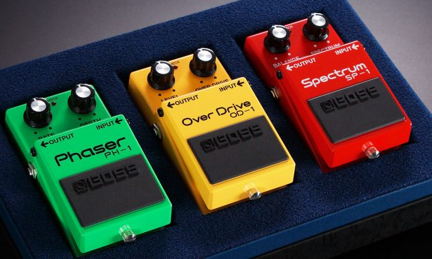 Celebrating 40 years of Boss guitar pedals!