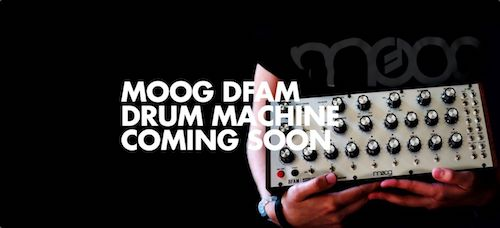 Moog's new Drummer From Another Mother!