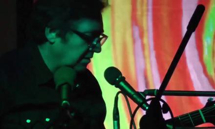 Al Quigley performing at the UCan Studios