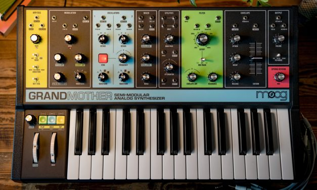 Moog Grandmother debuts at Moogfest 2018