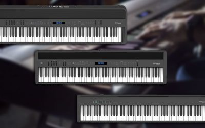 Roland's new range of FP-X digital pianos